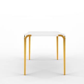 Natalia Side Table Ivory Long