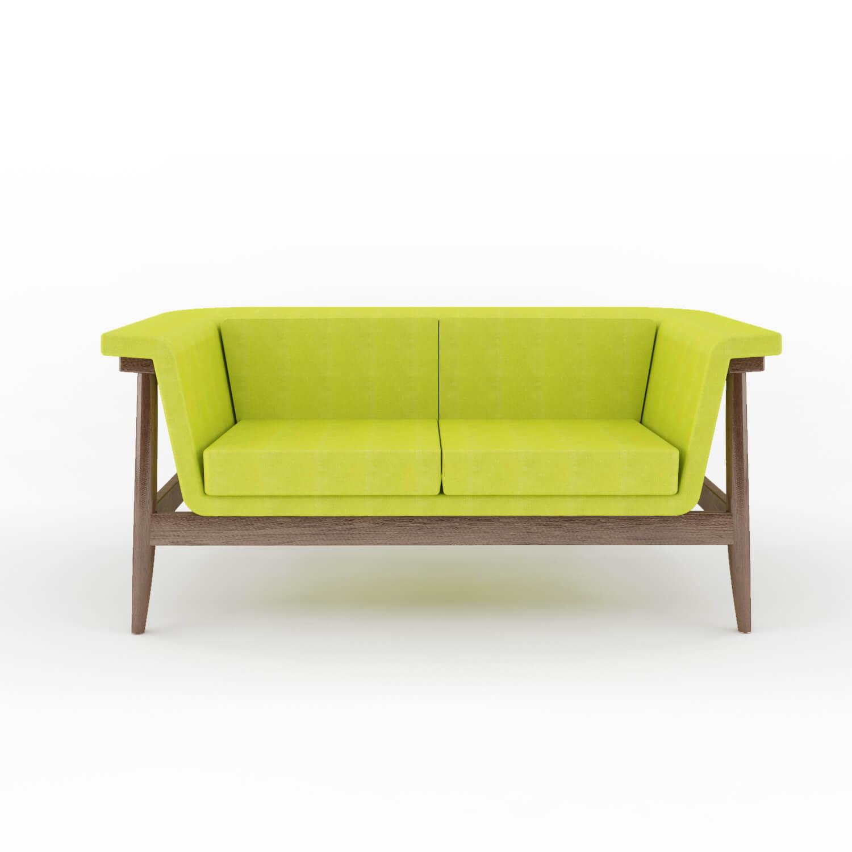 Sofa Verde Double Amazng Furniture Accessories